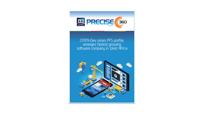 CMMI-DEV Raises PFS' Profile, emerges Fastest Growing Software Company in West Africa